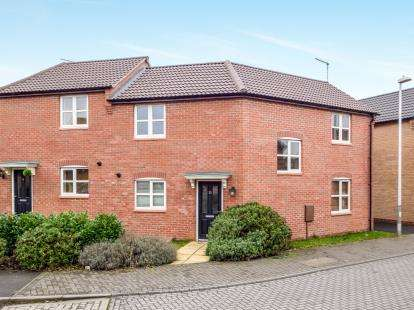 3 Bedrooms Semi Detached House for sale in Roman Crescent, Hucknall, Nottingham, Nottinghamshire