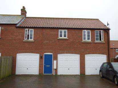 2 Bedrooms Semi Detached House for sale in Honeysuckle Lane, Wragby, Market Rasen, Lincolnshire