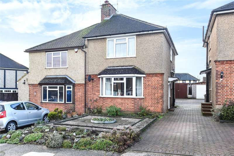 3 Bedrooms Semi Detached House for sale in Maxwell Close, Mill End, Rickmansworth, Hertfordshire, WD3