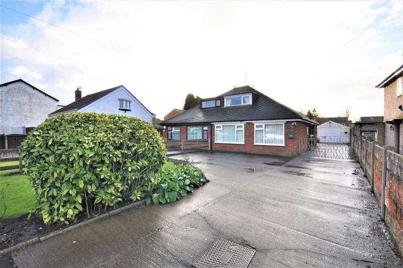 4 Bedrooms Semi Detached Bungalow for sale in Lytham Road, Freckleton, Preston, Lancashire, PR4 1AB