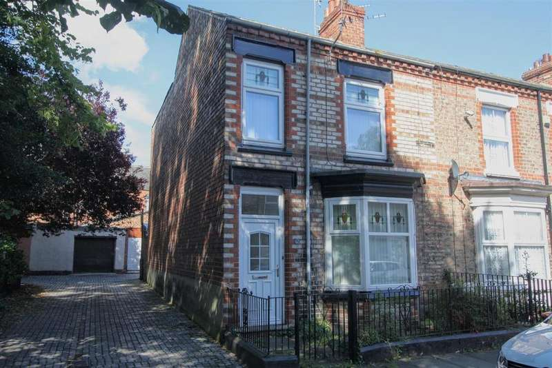 3 Bedrooms Terraced House for sale in Brook Terrace, Darlington