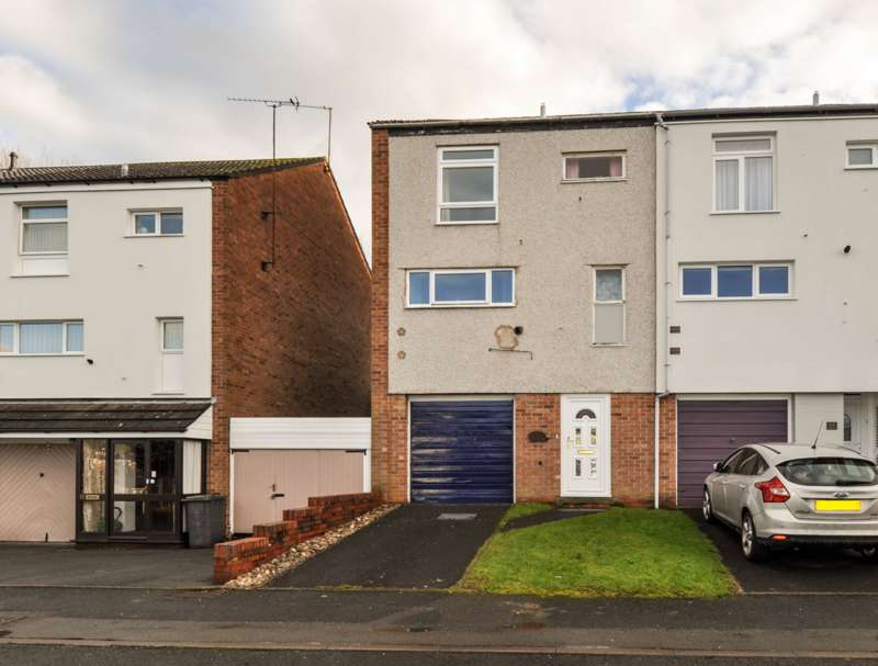 3 Bedrooms End Of Terrace House for sale in Netherfield, Greenlands, Redditch, B98