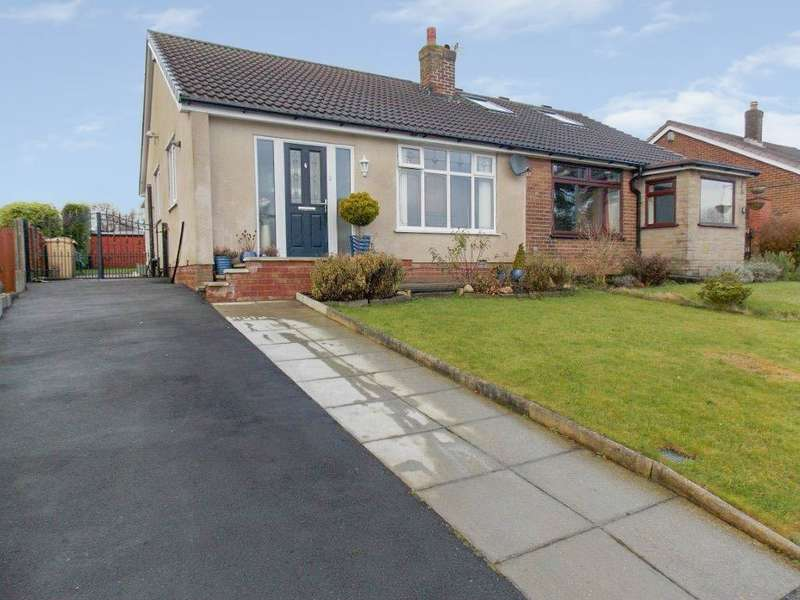 2 Bedrooms Semi Detached Bungalow for sale in Singleton Grove, Westhoughton, Bolton, BL5