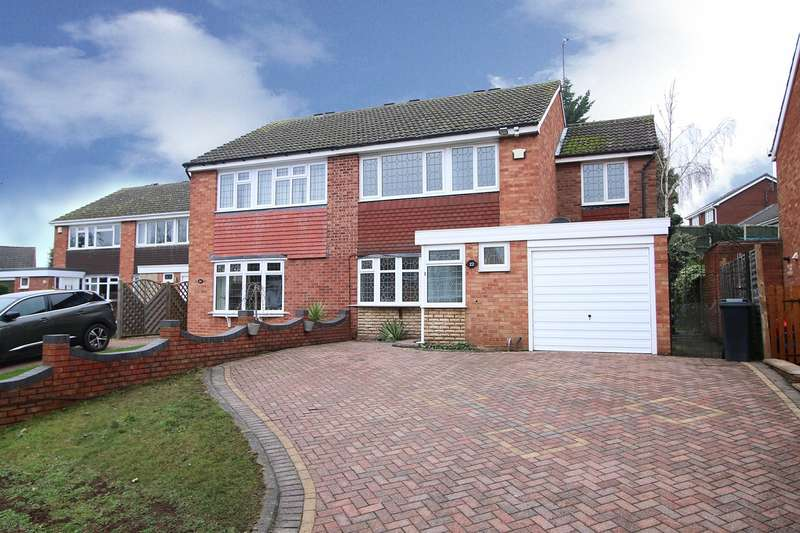4 Bedrooms Semi Detached House for sale in Brookside Way, Wall Heath, Kingswinford, DY6