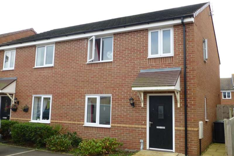 3 Bedrooms Semi Detached House for sale in Damson Drive, Evesham, WR11