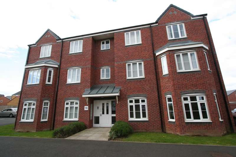 2 Bedrooms Flat for sale in Scholars Rise, Middlesbrough, TS4