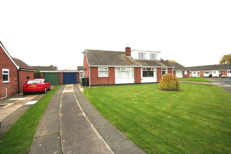 2 Bedrooms Semi Detached Bungalow for sale in Askern Drive, Middlesbrough, TS5