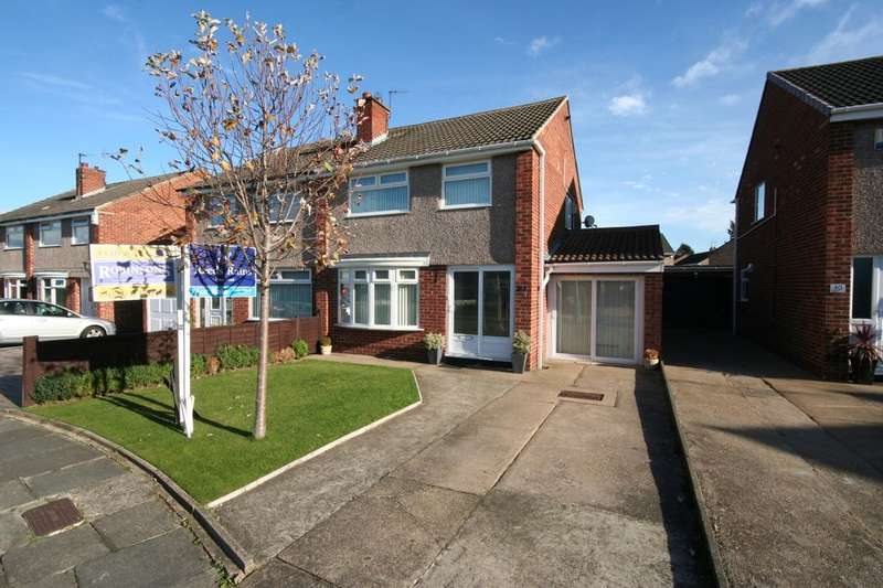 3 Bedrooms Semi Detached House for sale in Ricknall Close, Middlesbrough, TS5