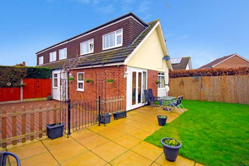 2 Bedrooms Semi Detached House for sale in Mount Close, Nantwich, CW5