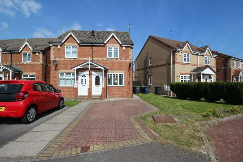 2 Bedrooms Semi Detached House for sale in Tyne View, Hebburn, NE31