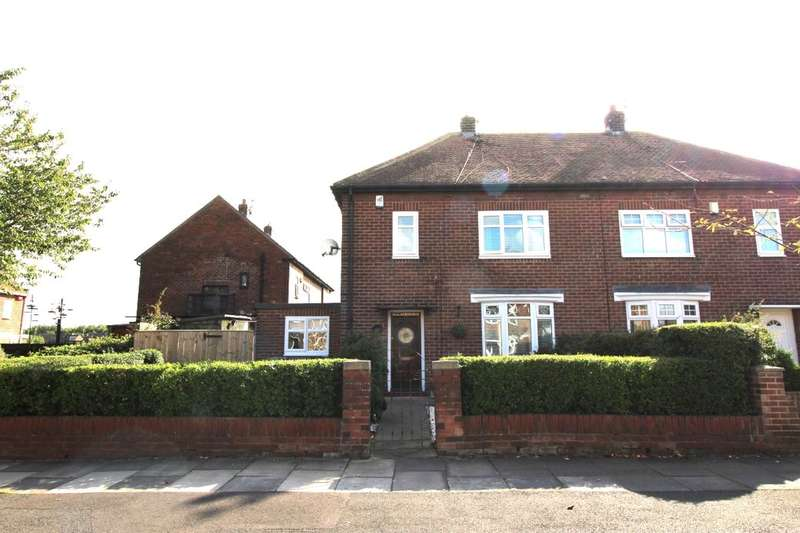 2 Bedrooms Semi Detached House for sale in Johnston Avenue, Hebburn, NE31