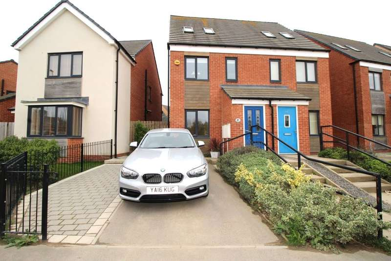 3 Bedrooms Terraced House for sale in St. Aloysius View, Hebburn, NE31