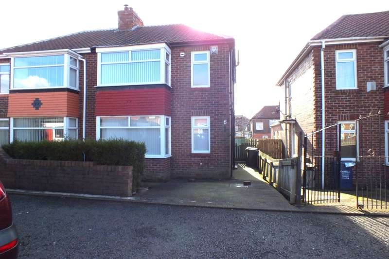 2 Bedrooms Semi Detached House for sale in Embleton Gardens, Newcastle Upon Tyne, NE5