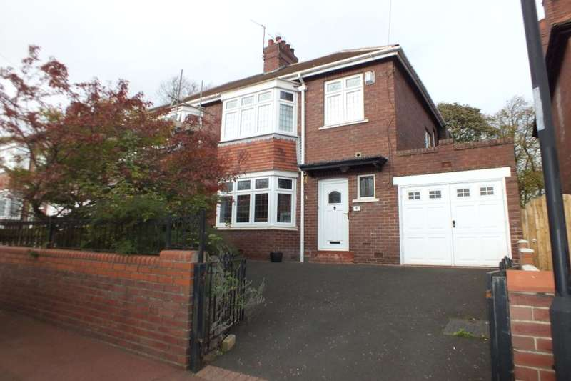3 Bedrooms Semi Detached House for sale in Kirton Avenue, Newcastle Upon Tyne, NE4