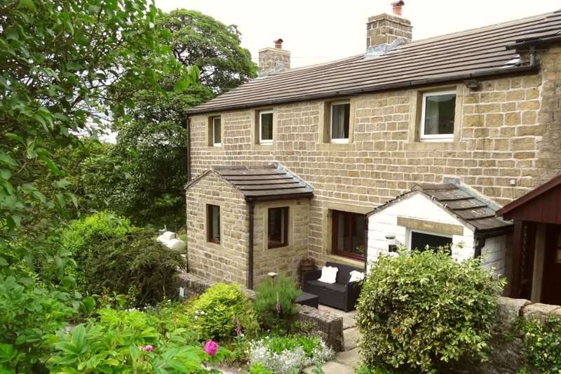 3 Bedrooms Semi Detached House for sale in Hollin Hall, Trawden, Colne, BB8