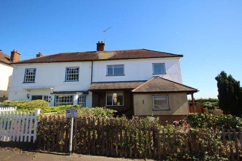4 Bedrooms Semi Detached House for sale in Sunnyside Road, Epping, CM16
