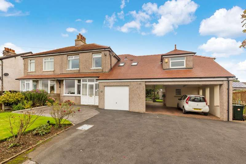 5 Bedrooms Semi Detached House for sale in 31 Main Street, Warton, Carnforth, Lancashire, LA5 9NS