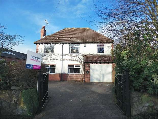 4 Bedrooms Detached House for sale in Shirebrook, Shirebrook, Mansfield, Derbyshire