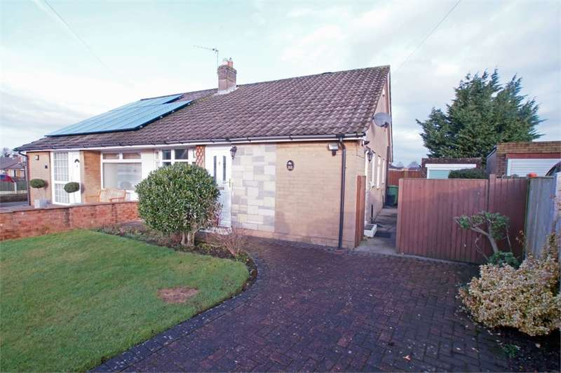 2 Bedrooms Semi Detached Bungalow for sale in CA3 9BS Woodlands Close, Stanwix, Carlisle, Cumbria