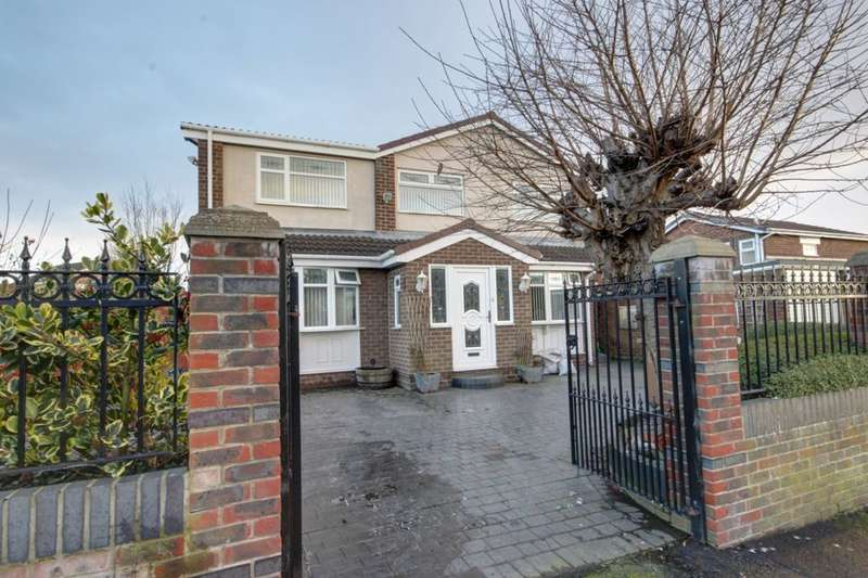 4 Bedrooms Detached House for sale in Whitefield Crescent, Houghton Le Spring, DH4