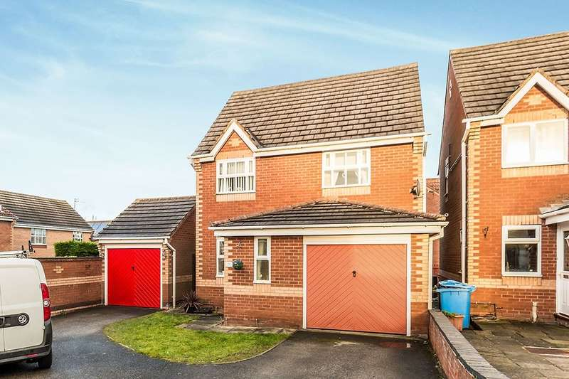 3 Bedrooms Semi Detached House for rent in Oxton Close, Retford, DN22