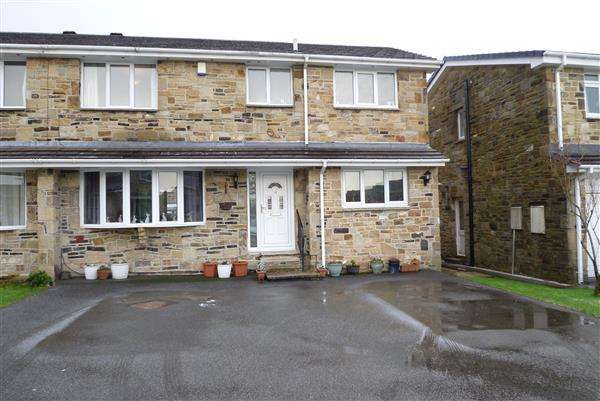 3 Bedrooms Semi Detached House for sale in Merlin Court, Netherton, Huddersfield