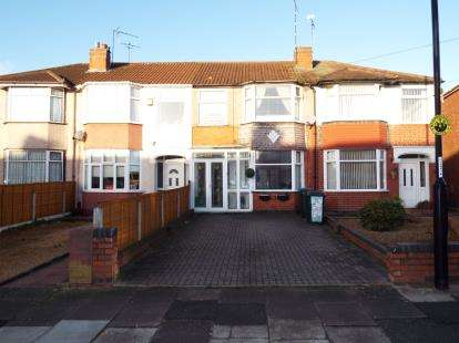 2 Bedrooms Terraced House for sale in Grangemouth Road, Radford, Coventry, West Midlands