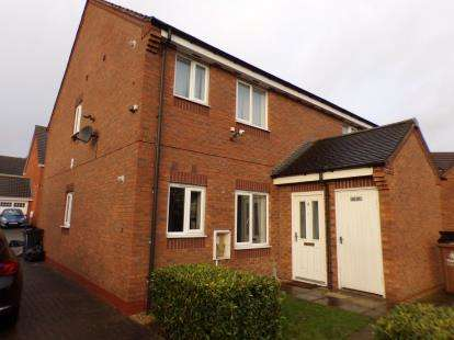 1 Bedroom Maisonette Flat for sale in Southmead Way, Walsall