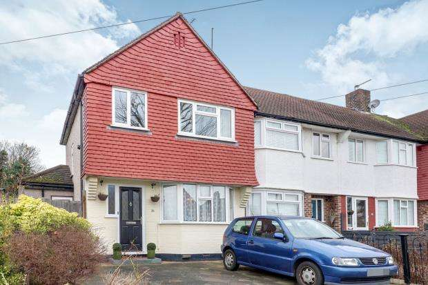3 Bedrooms End Of Terrace House for sale in Worcester Park, Surrey, .