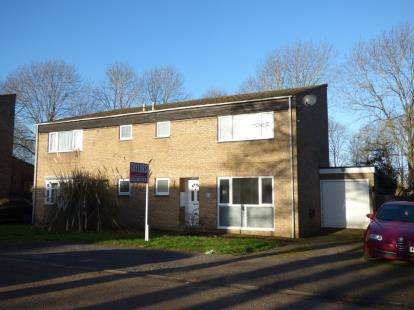 3 Bedrooms Semi Detached House for sale in Manshead Court, Stony Stratford, Milton Keynes, Bucks