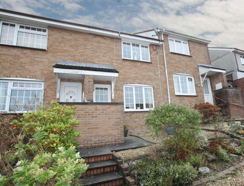 2 Bedrooms Terraced House for sale in Distine Close, Higher Compton, PL3 6QZ