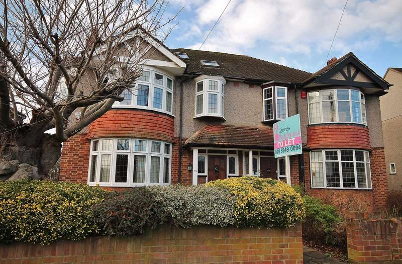 4 Bedrooms Semi Detached House for rent in Cromford Way, New Malden