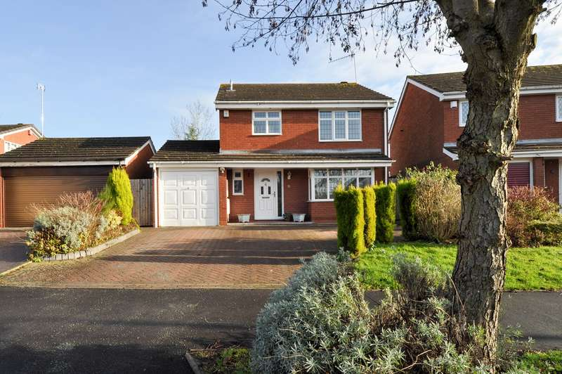 3 Bedrooms Detached House for sale in Thornbury Lane, Redditch, B98