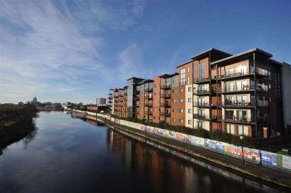 1 Bedroom Flat for sale in Steele House, Lamba Court, Salford, Manchester