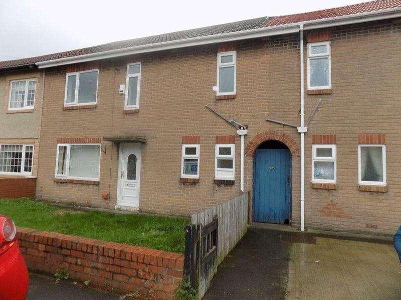 3 Bedrooms Terraced House for rent in Poplar Grove, Bedlington, Three Bedroom House.