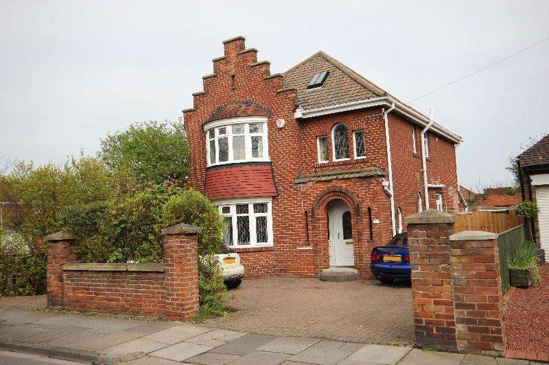 4 Bedrooms Detached House for sale in Wooler Road, Hartlepool