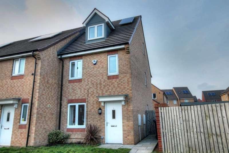 3 Bedrooms Property for sale in Brookville Crescent, Slatyford, Newcastle Upon Tyne, NE5