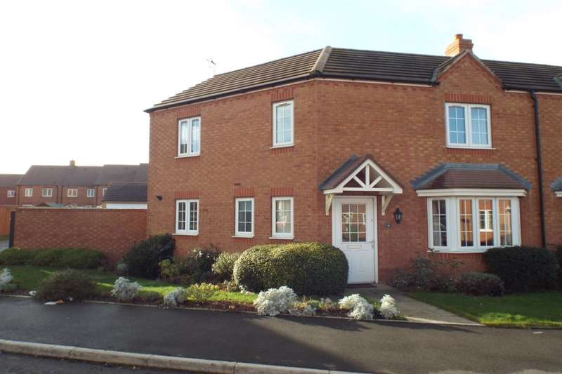 3 Bedrooms Semi Detached House for sale in Cornflower Drive, Evesham, WR11