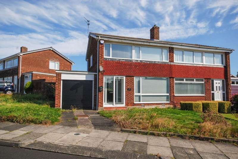 3 Bedrooms Semi Detached House for sale in Elgin Court, Bill Quay
