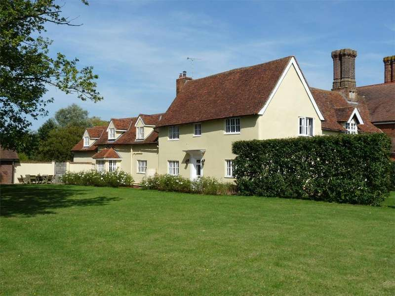 5 Bedrooms Semi Detached House for sale in Hempstead Hall, Finchingfield Road, Hempstead, Nr Saffron Walden