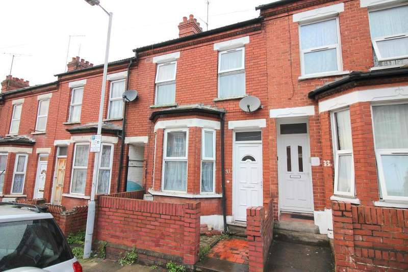 2 Bedrooms Terraced House for sale in Saxon Road, Luton, Bedfordshire, LU3 1JR
