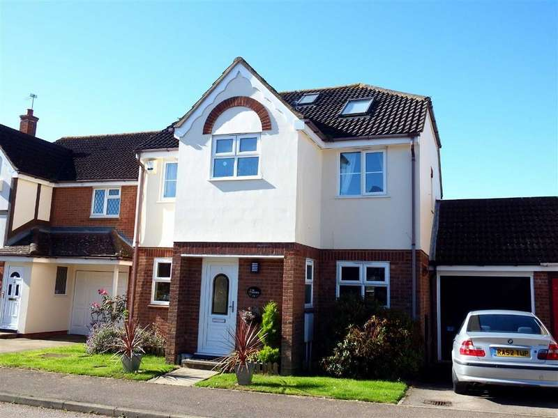 5 Bedrooms Detached House for sale in Hayfield, Stevenage, Hertfordshire, SG2