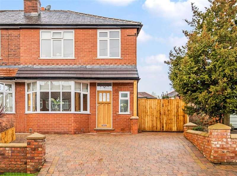 3 Bedrooms Semi Detached House for sale in Douglas Road, Worsley, Manchester, M28 2SR