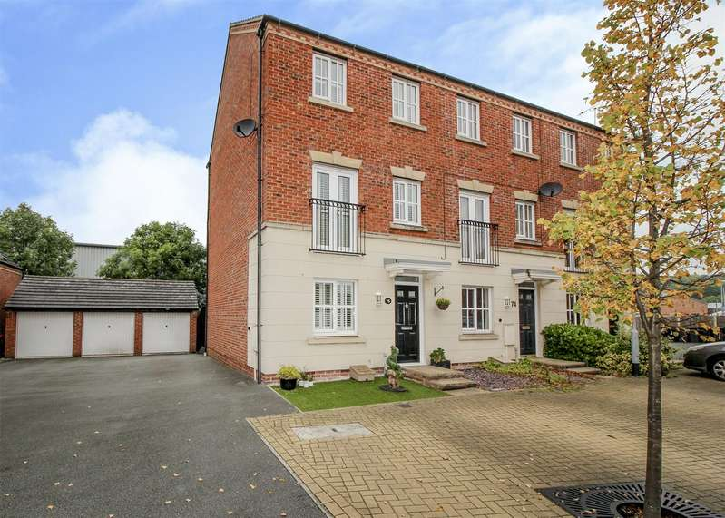 3 Bedrooms Town House for sale in Mountbatten Way, Chilwell