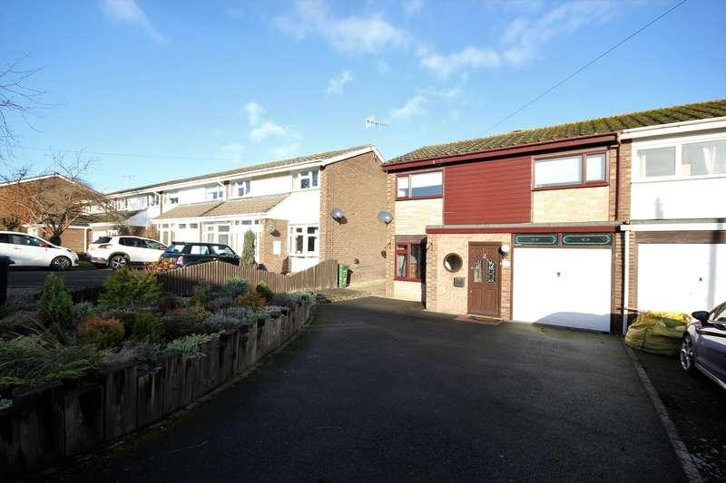 3 Bedrooms End Of Terrace House for sale in Kennels Lane, Fernhill Heath, Worcester, WR3