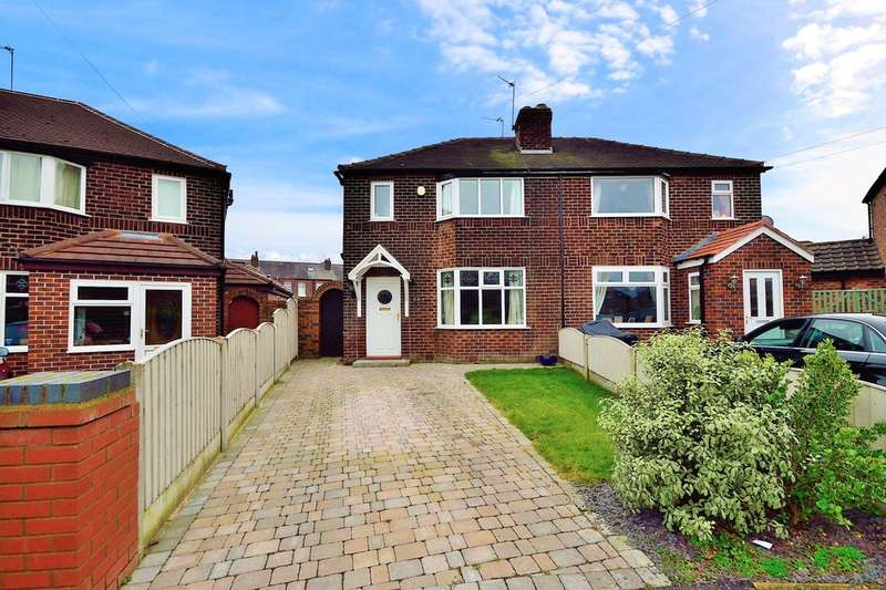 3 Bedrooms Semi Detached House for sale in Cawthorne Avenue, Grappenhall, Warrington