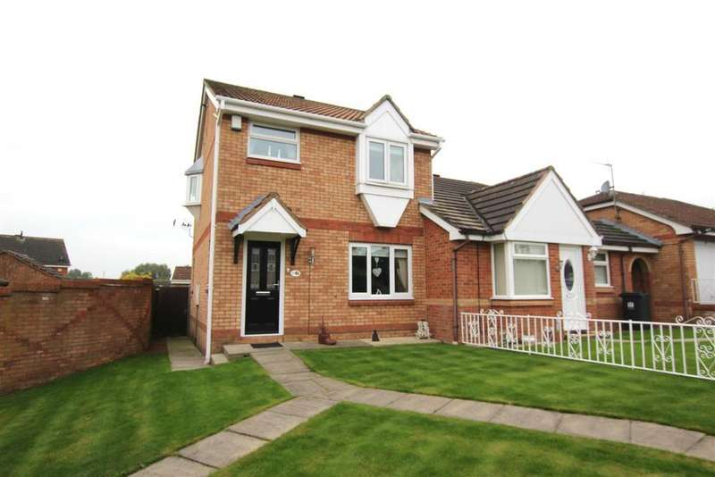 3 Bedrooms Semi Detached House for sale in Wylam Avenue, Darlington