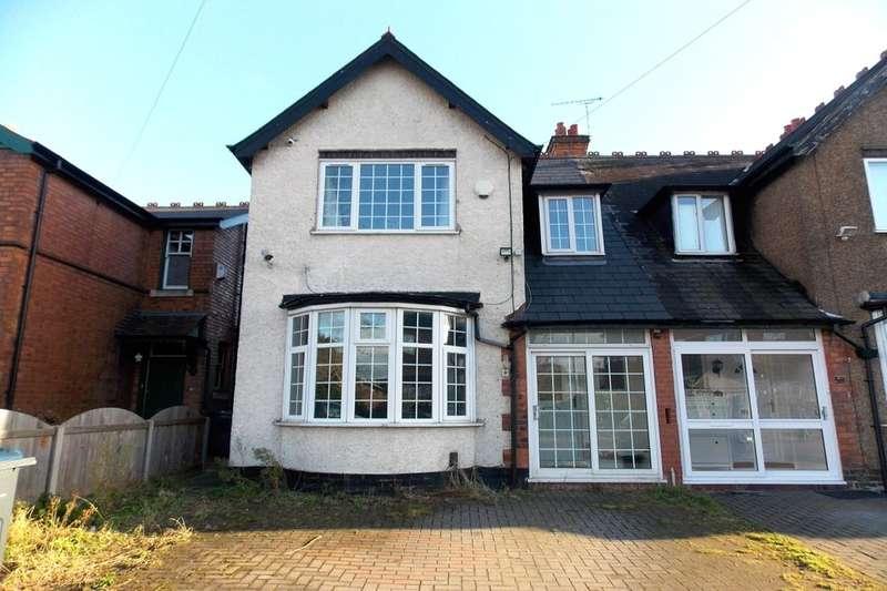 3 Bedrooms Semi Detached House for sale in Lyttelton Road, Stechford, Birmingham, B33