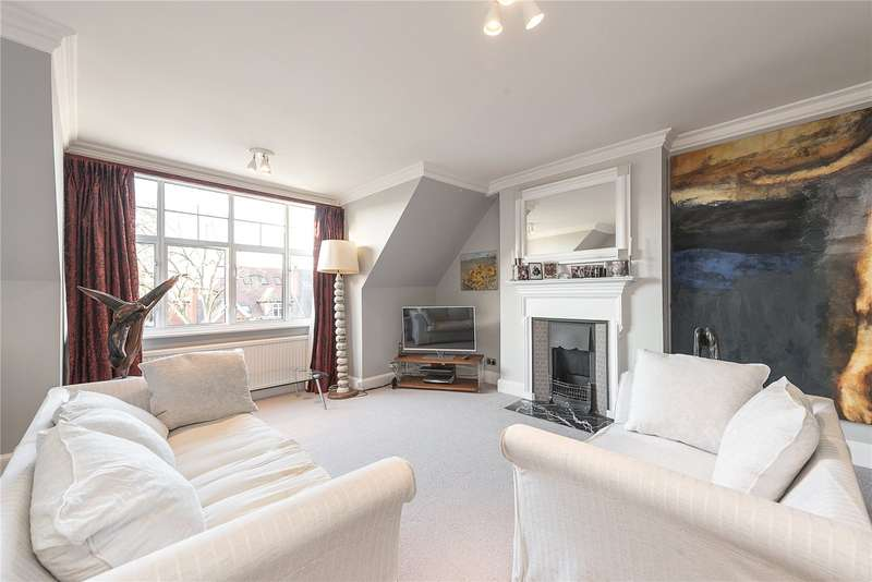3 Bedrooms Flat for sale in Bracknell Gardens, Hampstead, London, NW3