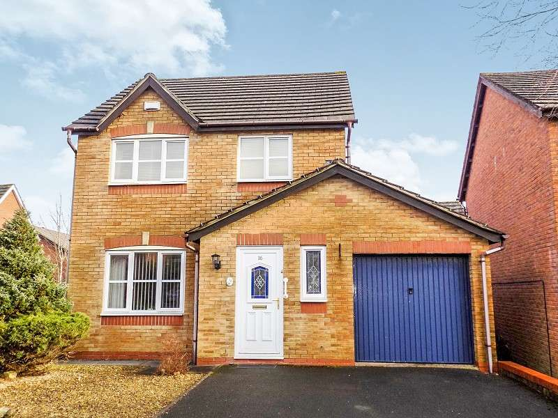 3 Bedrooms Detached House for sale in Dol Nant Dderwen , Broadlands, Bridgend. CF31 5AA
